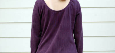 Otium Top In Sweater Knit | TheFabricMarket.com