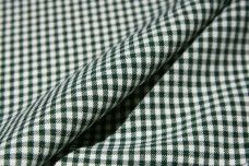 Mini Gingham Gabardine - Forest
