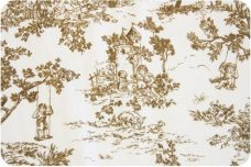 French Toile - Camel