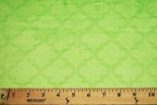 Embossed Moroccan Tile - Lime