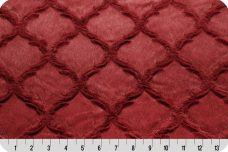 Embossed Lattice - Garnet