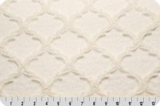 Embossed Lattice - Ivory