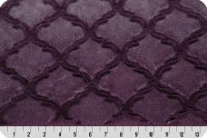 Embossed Lattice - Plum