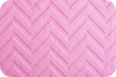 Embossed Chevron - Pink