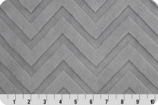 Embossed Chevron - Silver