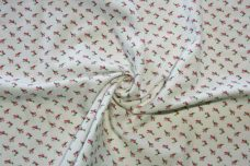 Tiny Rosebud Flannel - Pink