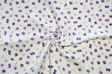 Butterfly Flannel - Purple