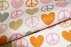 Peace and Love Flannel