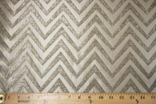 Chevron Chenille - Putty