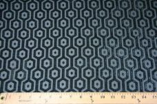Hexagon Chenille - Slate