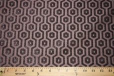 Hexagon Chenille - Smokey Purple