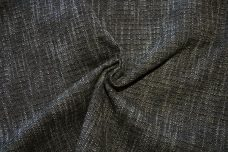 Tweed Chenille - Black & Charcoal