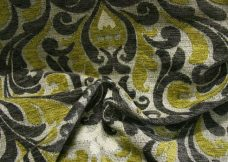 2 Tone Damask Chenille - Lime
