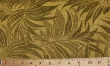 Olive Fern Chenille