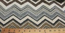 Large Chevron Chenille - Taupe