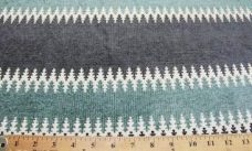 Ethnic Stripe Chenille - Everglade