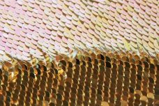 Reversible Sequin - Bright Gold & AB Opal