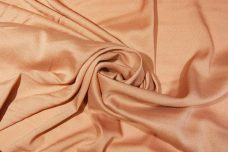 Crepe De Chine - Dusty Peach