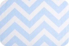 Large Chevron - Baby Blue