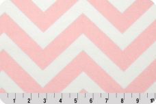Large Chevron - Blush
