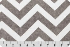 Large Chevron - Charcoal