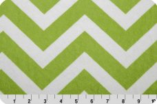 Large Chevron - Lime