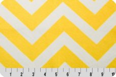 Large Chevron - Yellow