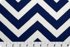 Large Chevron - Navy