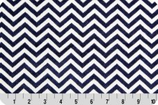 Mini Chevron - Navy