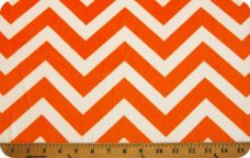 Large Chevron - Orange