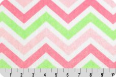 Large Chevron - Paris & Lime