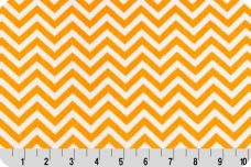 Mini Chevron - Pumpkin