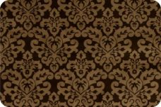 Damask #1 - Cappuccino & Brown