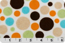 Bubble Dots - Brown