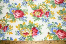 Large French Terry Floral