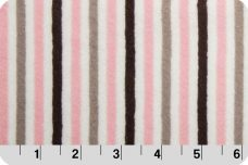 Mini Stripe - Blush &  Silver