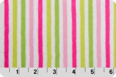 Mini Stripe - Hot Pink &  Jade