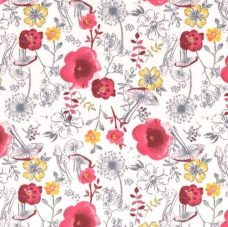 Mr. Whiskers Minky - Floral