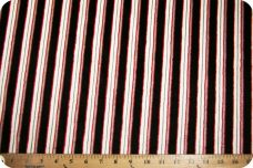 Various Stripe - Black & Red