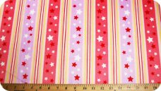 Various Stripe - Pink Stars & Stripes