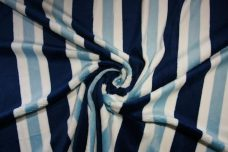 Various Stripe - Large Navy & Light Blue
