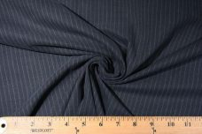 Faded Slate Pinstripe Twill