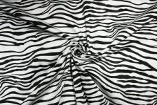 Zebra Polished Stretch Twill