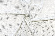 Pindot Cotton/Poly Muslin