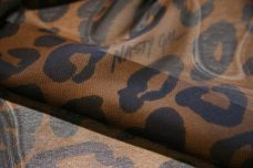 Large Jaguar Chiffon - Brown