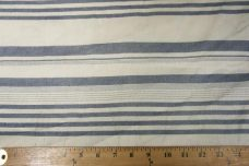 Lightweight Poly/Cotton Stripe - Denim