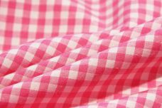 """1/8"""" Gingham Poly/Cotton - Hot Pink"""
