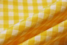 "1/4"" Gingham Poly/Cotton - Yellow"
