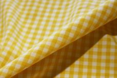 "1/8"" Gingham Poly/Cotton - Yellow"