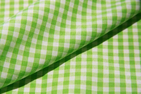 """1/8"""" Gingham Poly/Cotton - Lime"""
